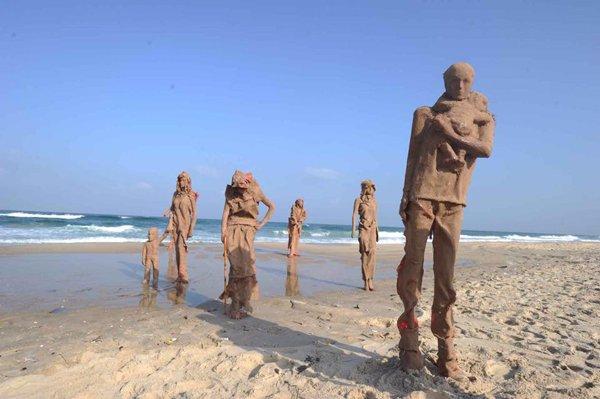 Gazzede savaşa inat sanata devam 6