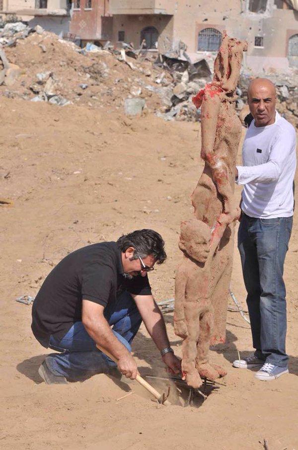 Gazzede savaşa inat sanata devam 7