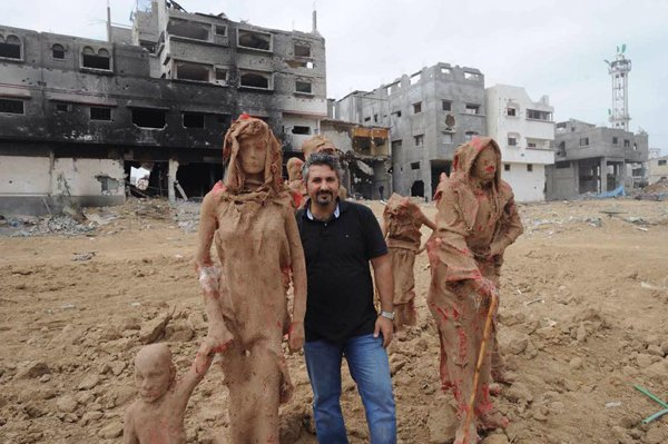 Gazzede savaşa inat sanata devam 8