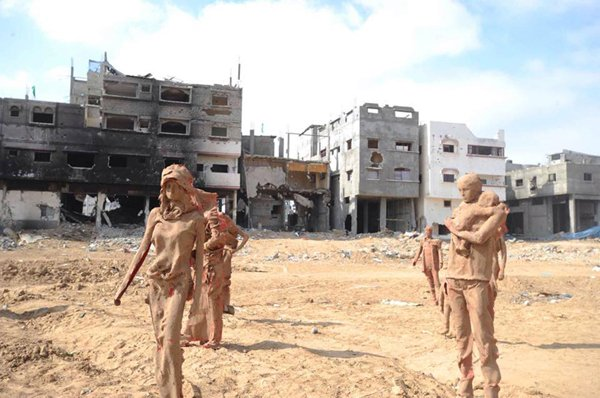 Gazzede savaşa inat sanata devam 9