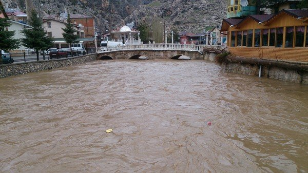 Konyada şiddetli yağış 1