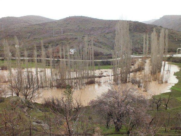 Konyada şiddetli yağış 9