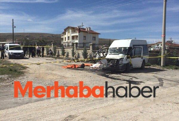Servis minibüsü kaza yaptı: 5 ölü, 11 yaralı 3