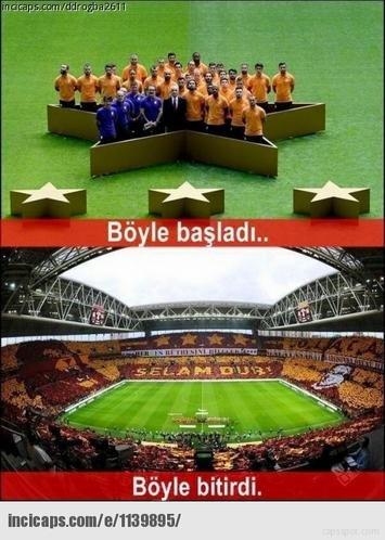 Galatasarayın şampiyonluk capsleri 12