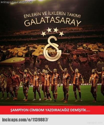Galatasarayın şampiyonluk capsleri 18