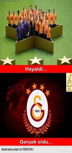 Galatasarayın şampiyonluk capsleri 22