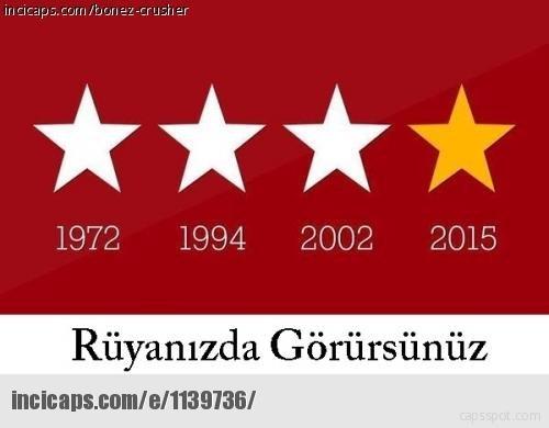 Galatasarayın şampiyonluk capsleri 23