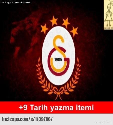 Galatasarayın şampiyonluk capsleri 9
