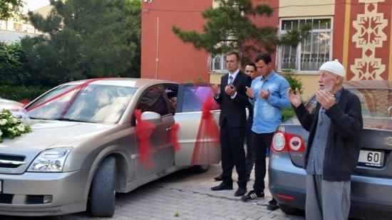 Konyada Trafik Grubu düğün yaptı 1