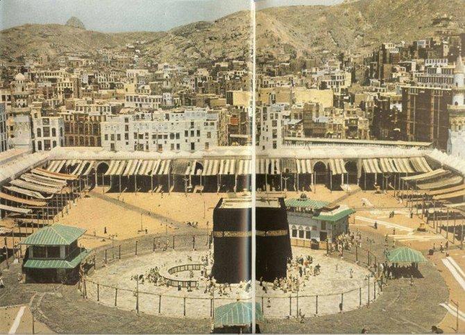İşte Kabe-i Muazzamanın 1953deki hali 3