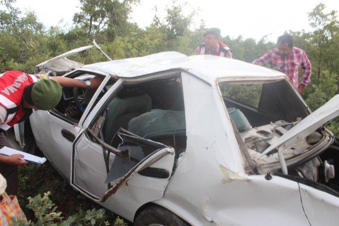 Beyşehirde trafik kazası: 1 ölü, 6 yaralı 10