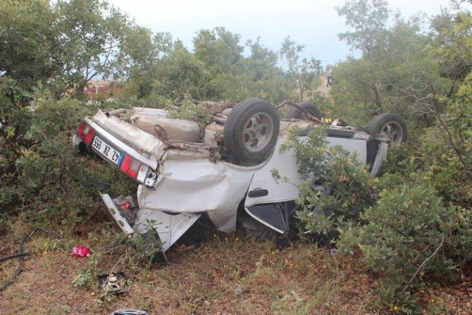 Beyşehirde trafik kazası: 1 ölü, 6 yaralı 3