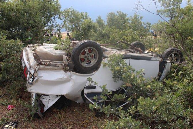 Beyşehirde trafik kazası: 1 ölü, 6 yaralı 6