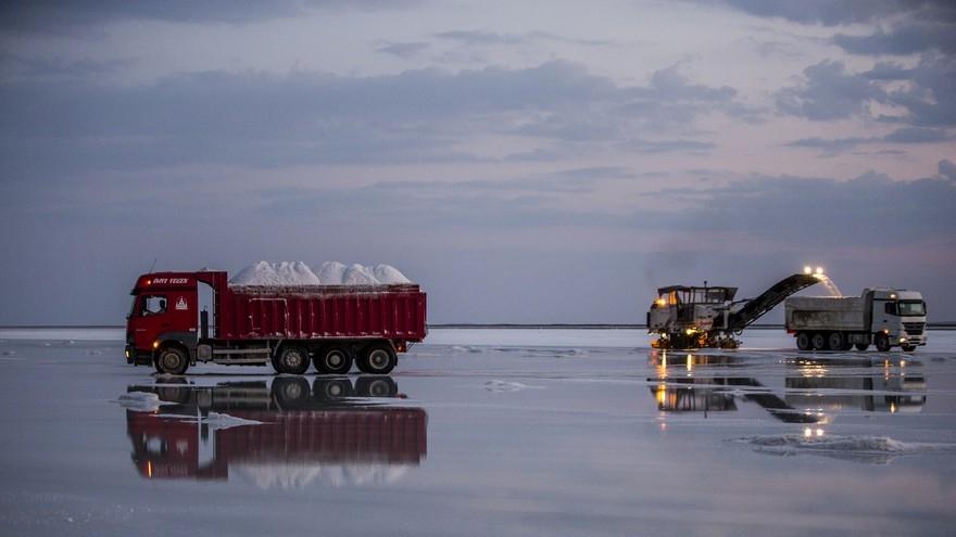 Su ekip tuz biçiyorlar 18
