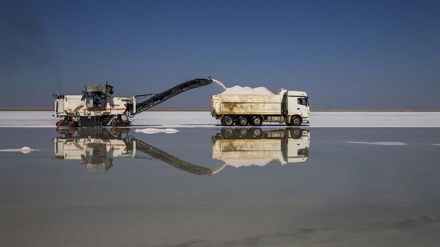 Su ekip tuz biçiyorlar 27