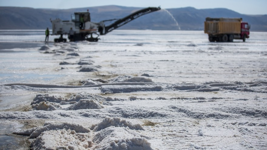 Su ekip tuz biçiyorlar 58