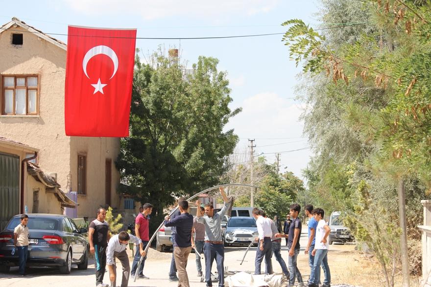 Konya'da şehit evinde yas var 7