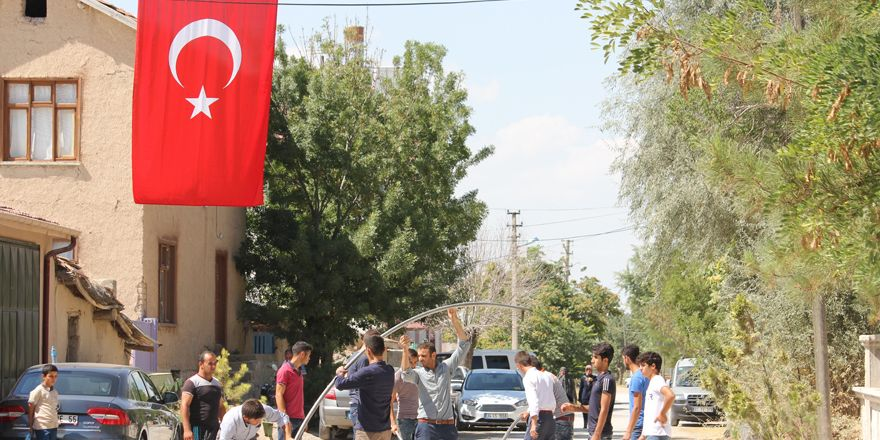 Konya'da şehit evinde yas var