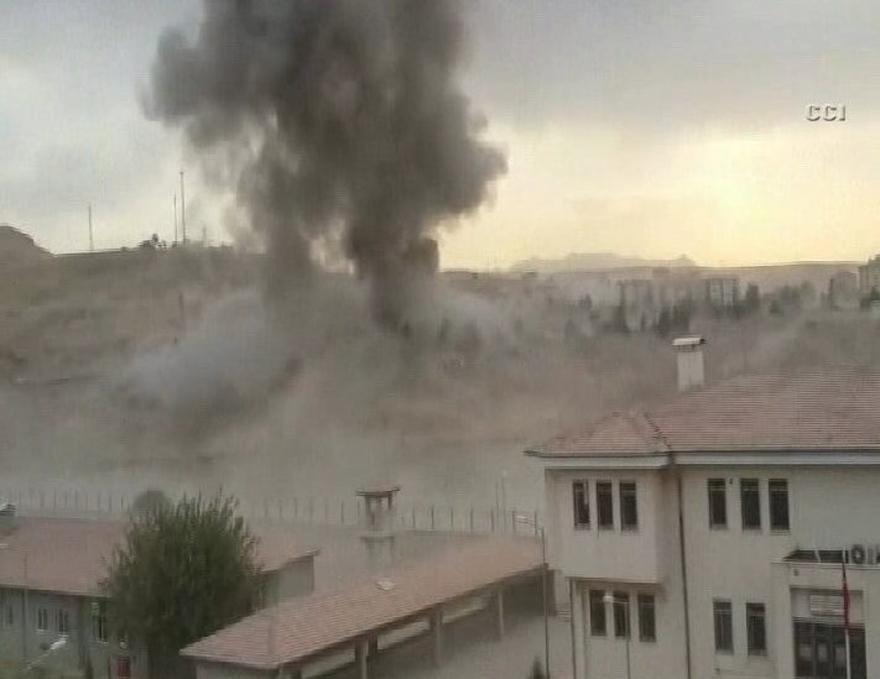 Cizre Emniyet Müdürlüğü Binasına Bombalı Saldırı 2
