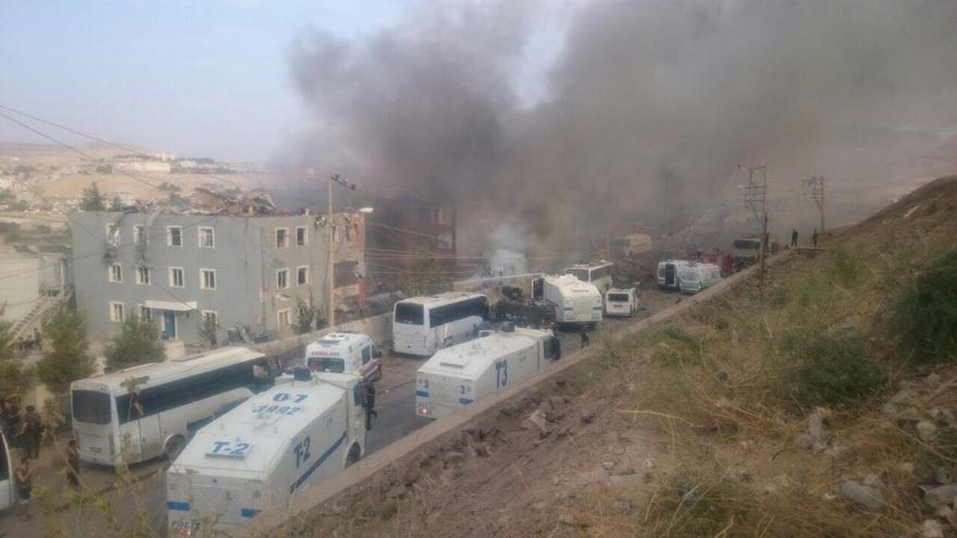 Cizre Emniyet Müdürlüğü Binasına Bombalı Saldırı 3
