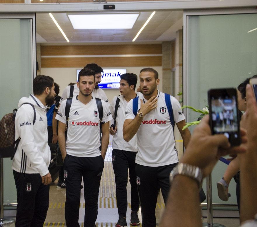 Beşiktaş kafilesi Konya'da 1