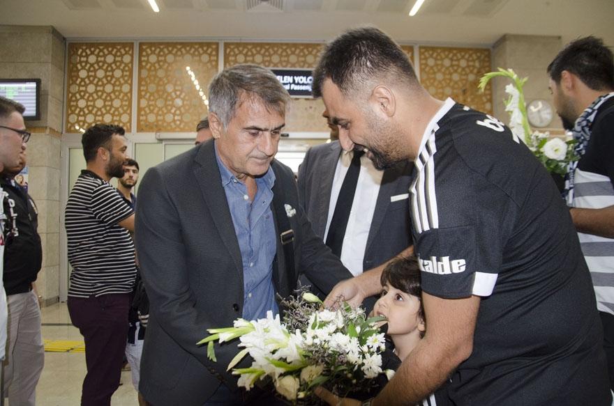 Beşiktaş kafilesi Konya'da 14