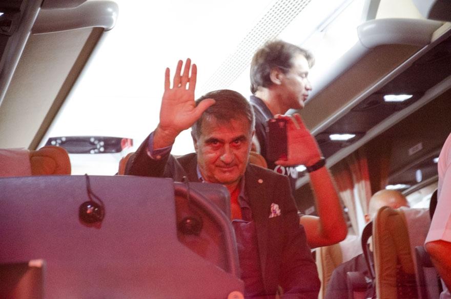 Beşiktaş kafilesi Konya'da 2
