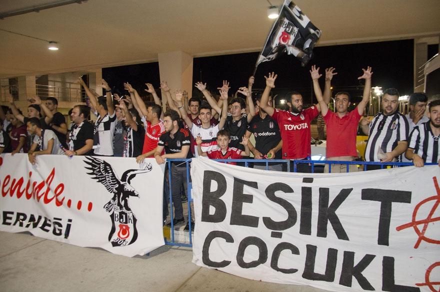 Beşiktaş kafilesi Konya'da 5