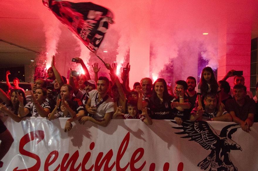 Beşiktaş kafilesi Konya'da 7