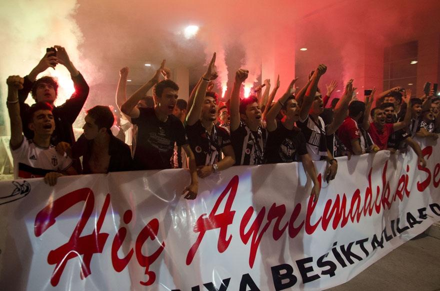Beşiktaş kafilesi Konya'da 8