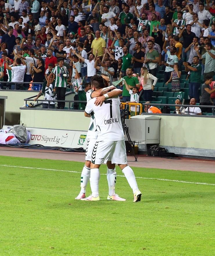 Konyaspor-Beşiktaş maçından enstantaneler 1