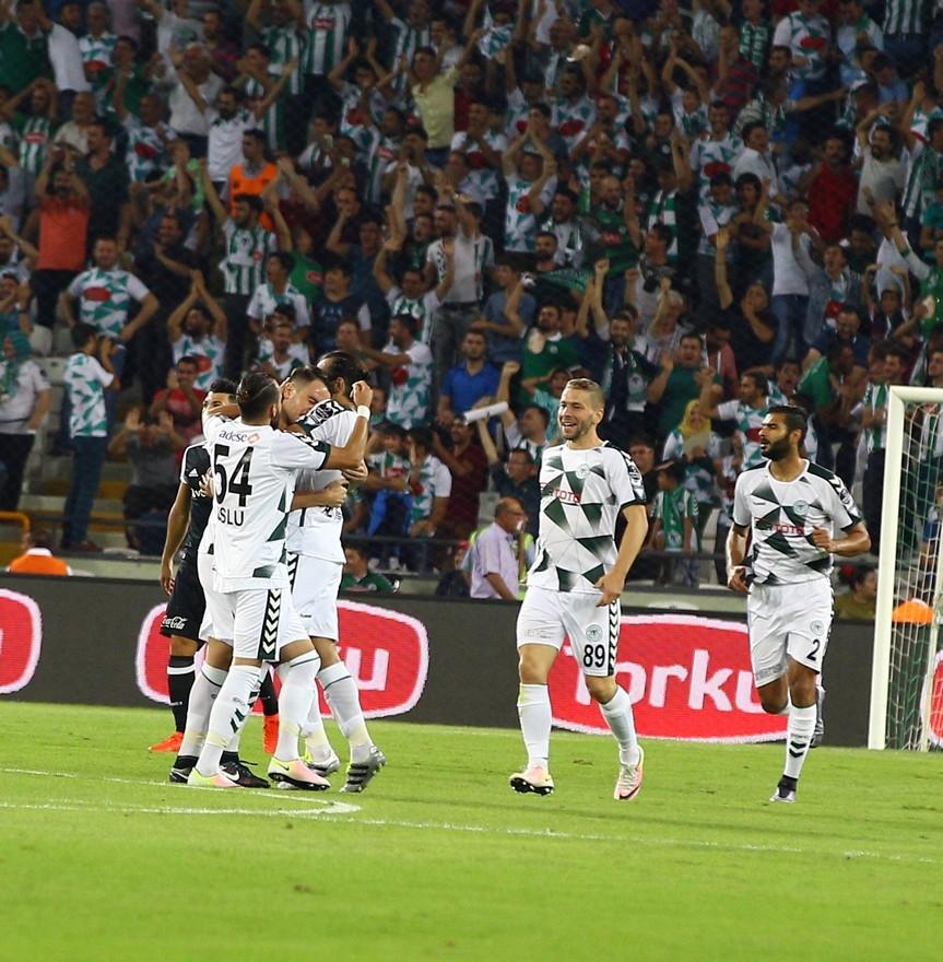 Konyaspor-Beşiktaş maçından enstantaneler 12