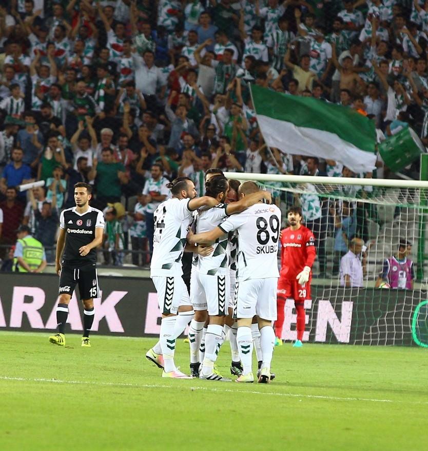 Konyaspor-Beşiktaş maçından enstantaneler 13