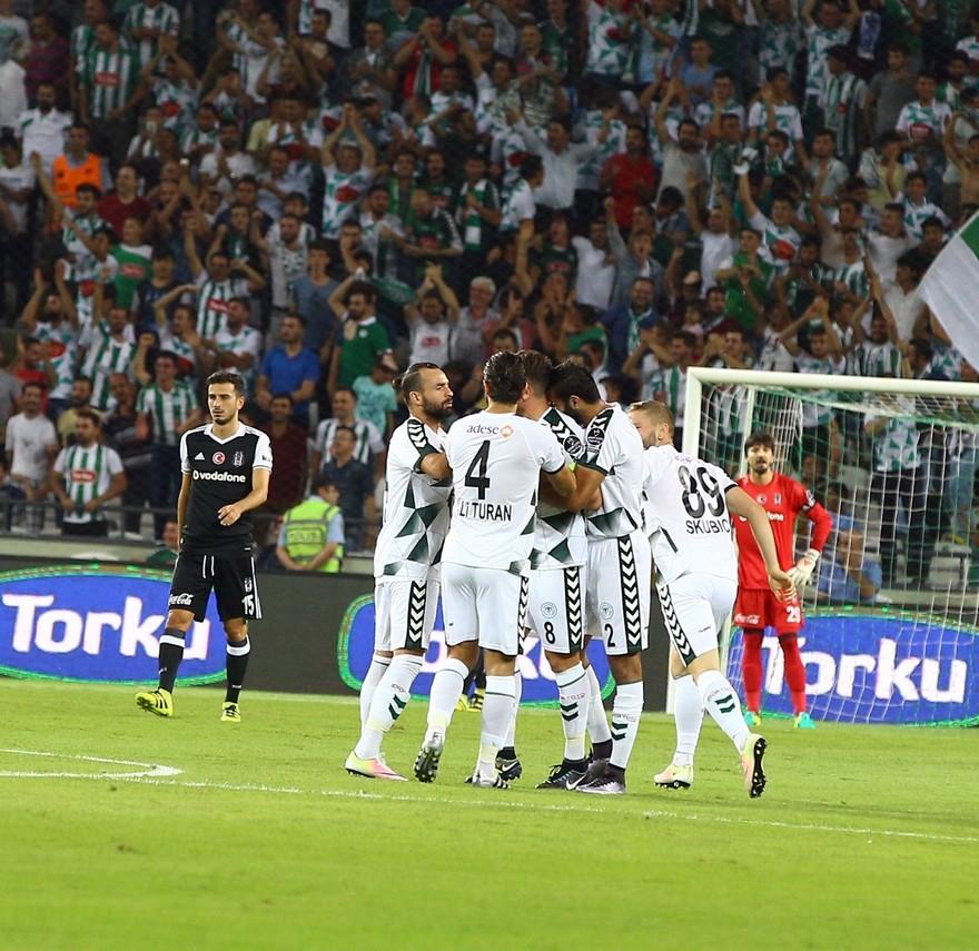 Konyaspor-Beşiktaş maçından enstantaneler 15