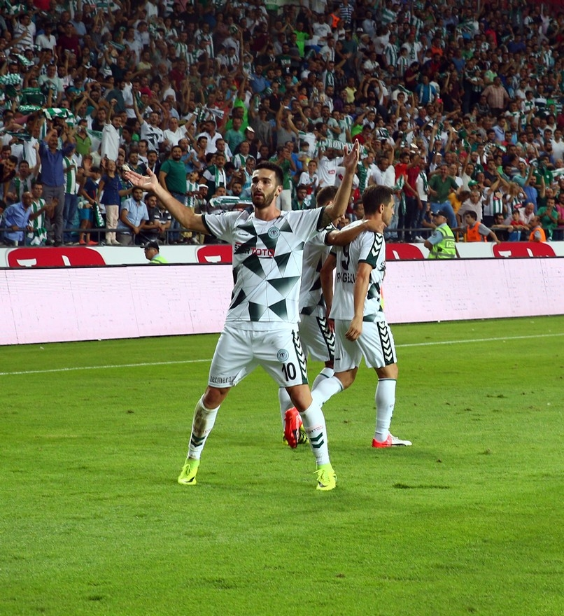 Konyaspor-Beşiktaş maçından enstantaneler 17