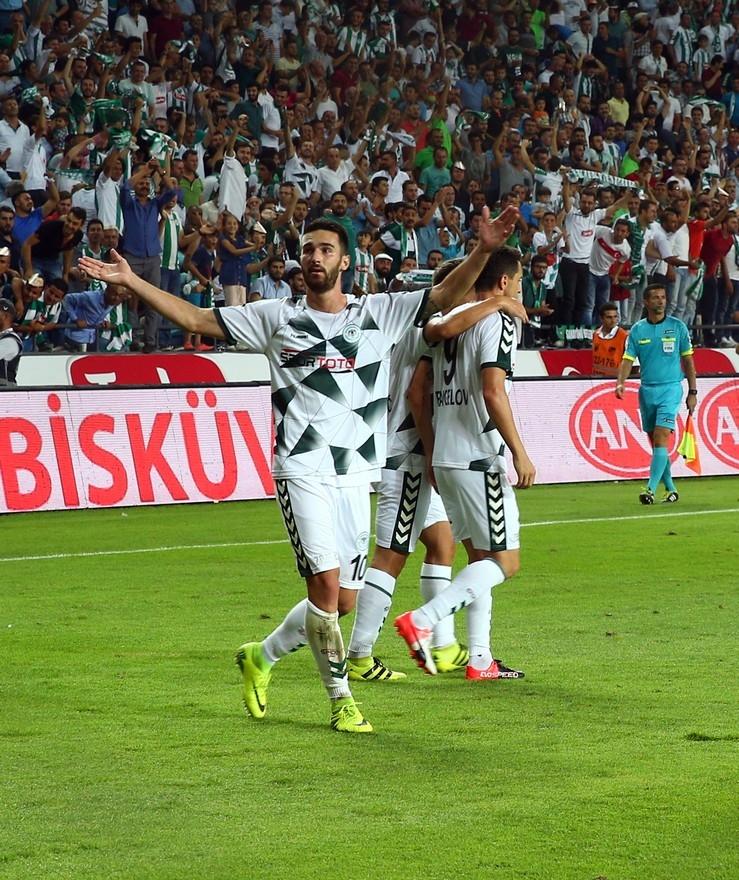 Konyaspor-Beşiktaş maçından enstantaneler 18
