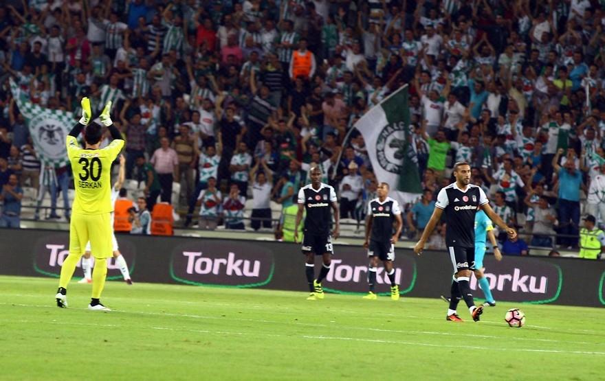 Konyaspor-Beşiktaş maçından enstantaneler 2