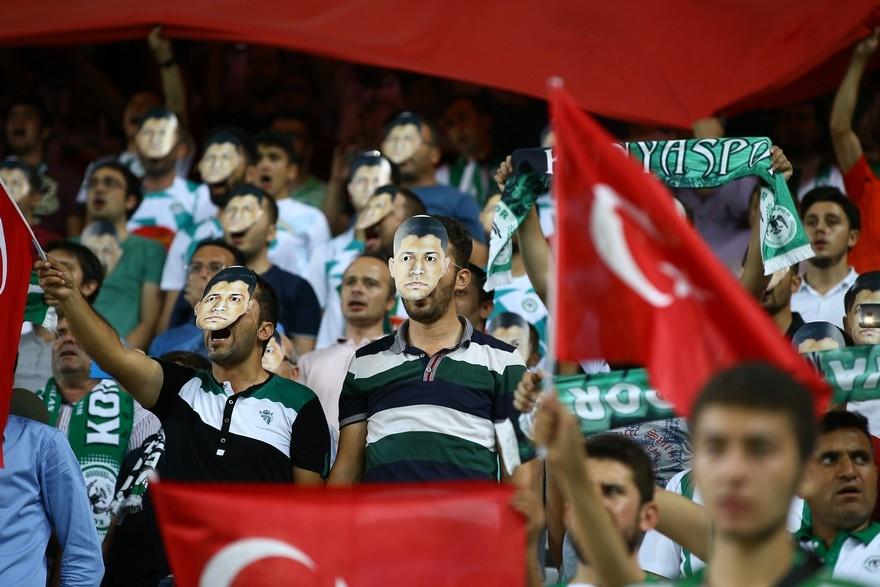 Konyaspor-Beşiktaş maçından enstantaneler 3