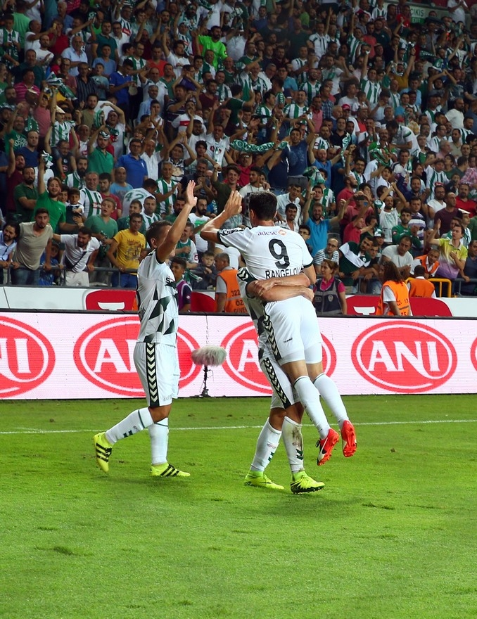 Konyaspor-Beşiktaş maçından enstantaneler 4