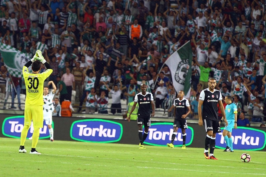 Konyaspor-Beşiktaş maçından enstantaneler 5