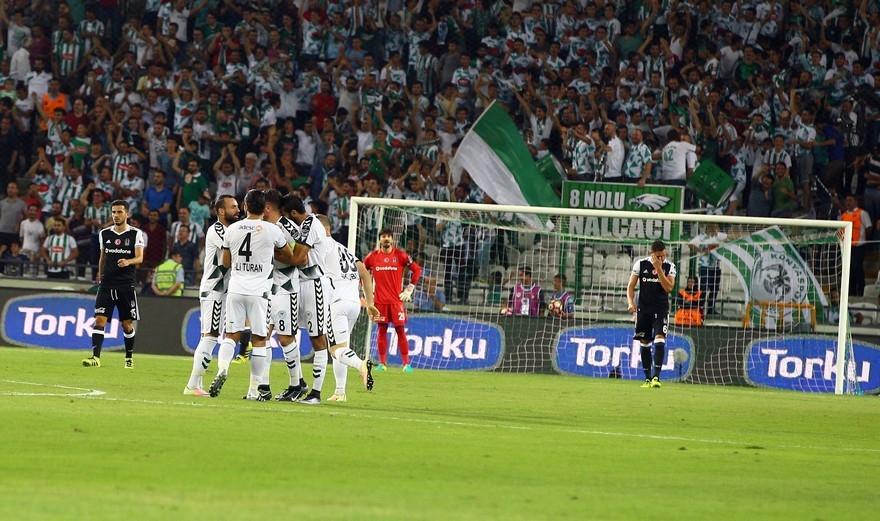 Konyaspor-Beşiktaş maçından enstantaneler 6