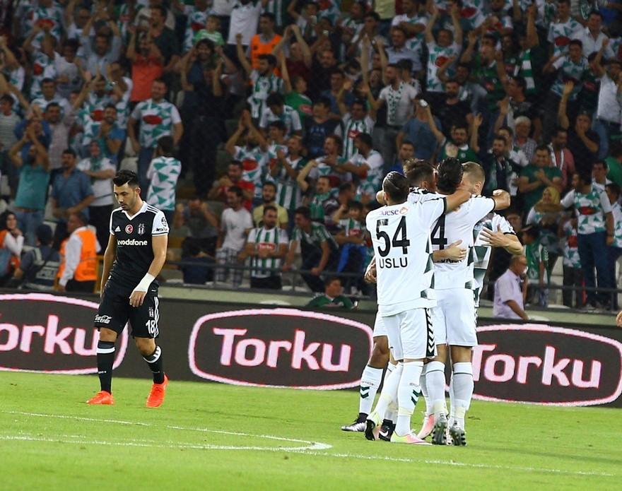 Konyaspor-Beşiktaş maçından enstantaneler 8