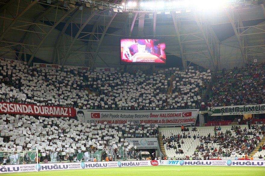 Konyaspor-Beşiktaş maçından enstantaneler 9