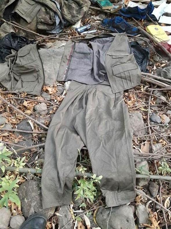 PKK mağarasından çıkan Davutoğlu ayrıntısı! 14