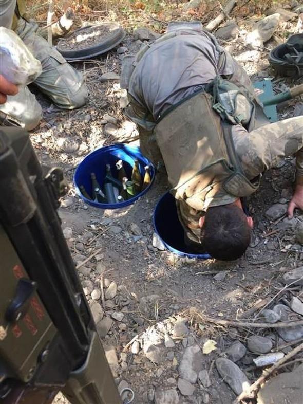PKK mağarasından çıkan Davutoğlu ayrıntısı! 21