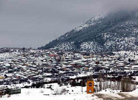 Beyşehirden kış manzaraları 2