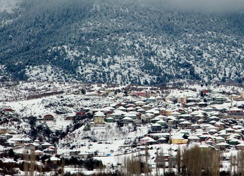 Beyşehirden kış manzaraları 5