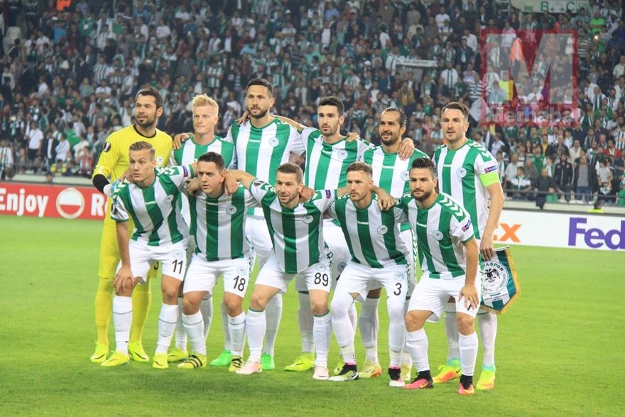 Atiker Konyaspor-Shakhtar Donetsk maçından kareler 1