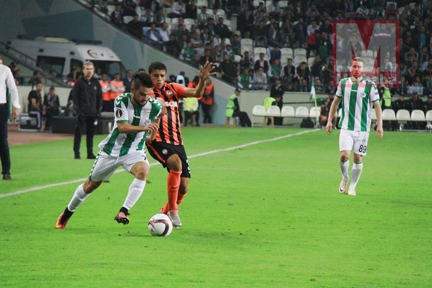 Atiker Konyaspor-Shakhtar Donetsk maçından kareler 10