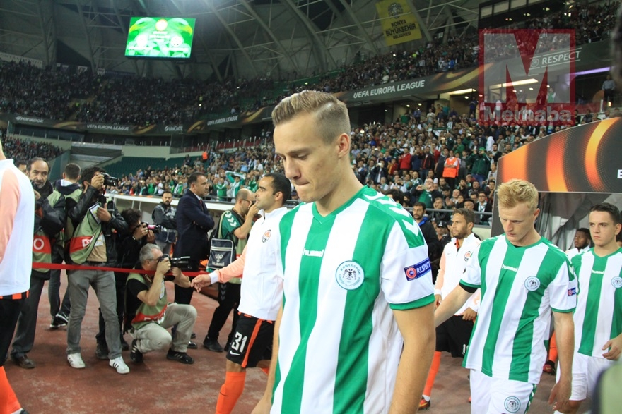 Atiker Konyaspor-Shakhtar Donetsk maçından kareler 11